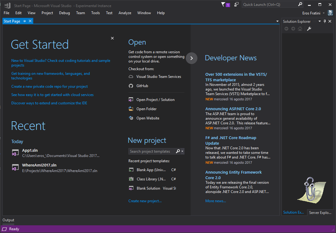 clippyvs visual studio marketplace